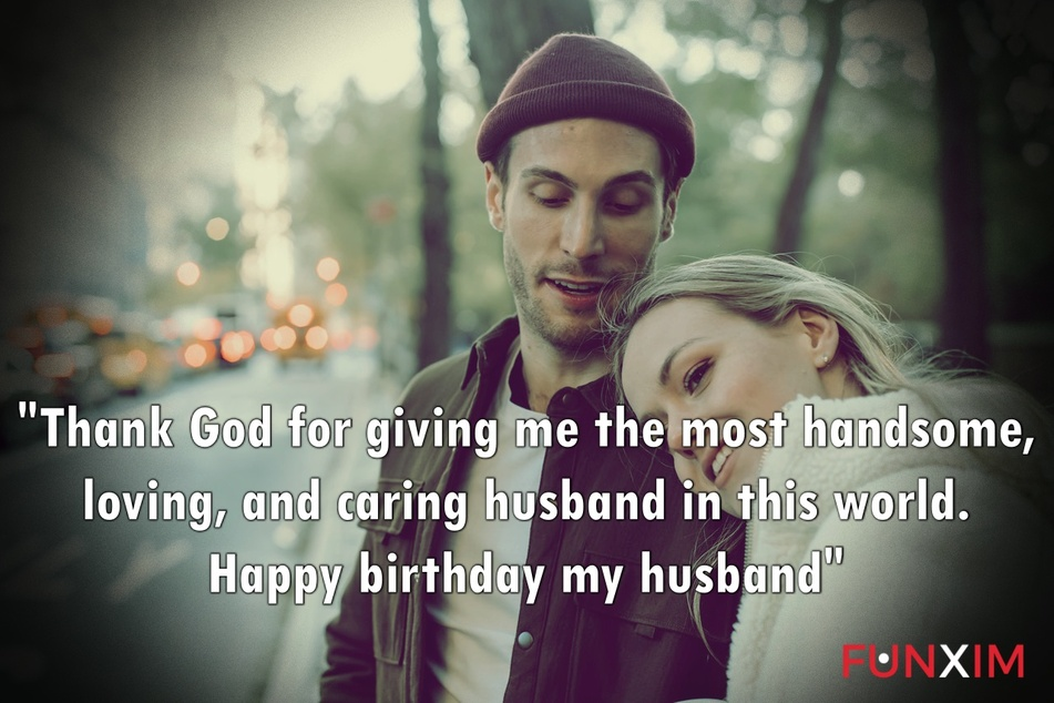 Thank God for giving me the most handsome, loving, and caring husband in this world. Happy birthday my husband
